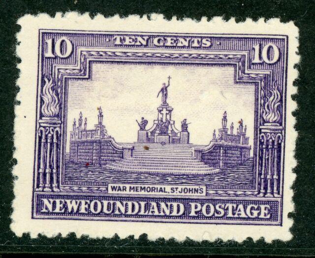 Canada 1928 Newfoundland 10¢ War Memorial Scott #153 Mint Z881