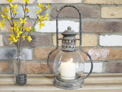 Nouveau 21 cm Vintage Rustique Bougie Lanterne Shabby Chic bougeoir décoration d/'intérieur