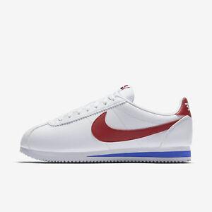 Men Size 749571 Gump Cortez 13 Red Classic Leather Forrest Nike White 154 8 UzVSMqp