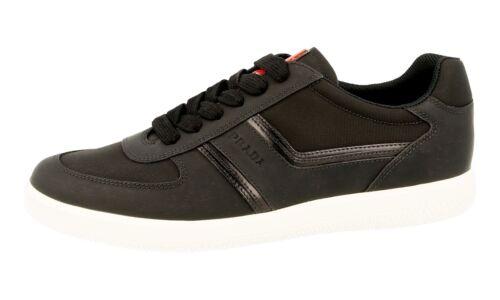 Luxus 9 Schwarz Sneaker 4e3026 Neu New 43 44 5 Schuhe 5 Prada AZqFwrSTA