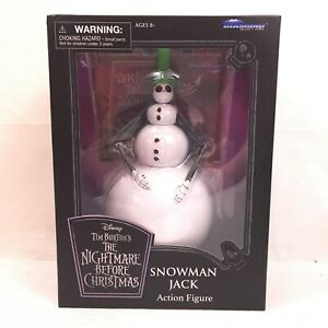 NIGHTMARE BEFORE CHRISTMAS JACK SNOWMAN DOLL DIAMOND SELECT TOYS NEW!