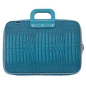 BOMBATA-Azul-Turquesa-Cocco-15-034-Laptop-Case-bolsa-con-correa-para-el-Hombro