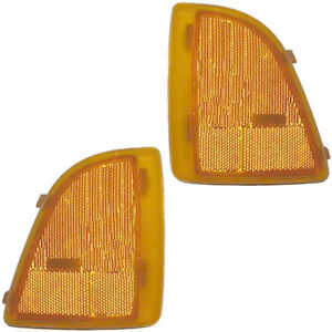 Fits 94-97 GMC Sonoma Driver Left Side Marker Light Lamp Assembly LH