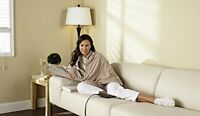 Sunbeam Chill Away Heated Fleece Wrap, TCFQR-783-00 , New, Free Shipping