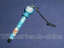 Doraemon Mobile Phone Charm Touch Screen Stylus Pen Jack Dust-proof Plug Stopper