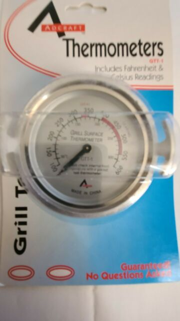 Man Law-T387 BBQ Grill Surface Thermometer