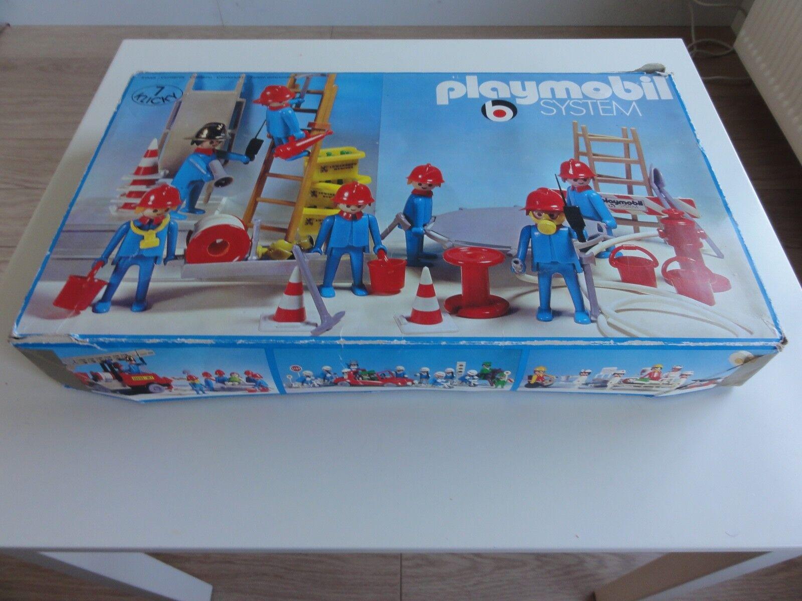 Playmobil 3403 vintage ovp fireman fireman fireman brandweer Feuerwehr service d'incendie 8884f4