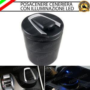 POSACENERE POSA CENERE CENERIERA PER FIAT 500X CON LED BLUE IN ABS