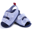 Baby Boy Girl Crib Shoes Infant Toddler Soft Sole Denim Sandals Newborn to 18 M
