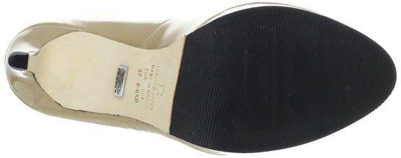 BUFFALO 16153-710 PATENT SOFT  131645 DAMEN LEDER PUMPS PUMPS PUMPS BEIGE NEU c69a5c