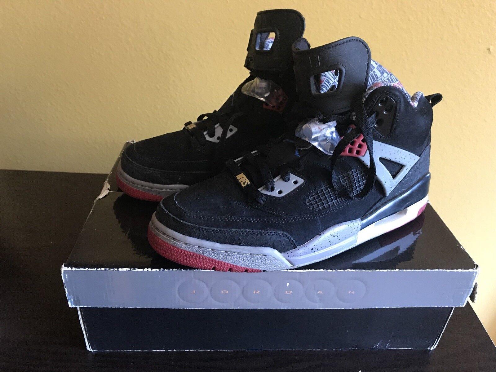 Nike air jordan spizike rosso cemento militari blu 315371-062 sz 10