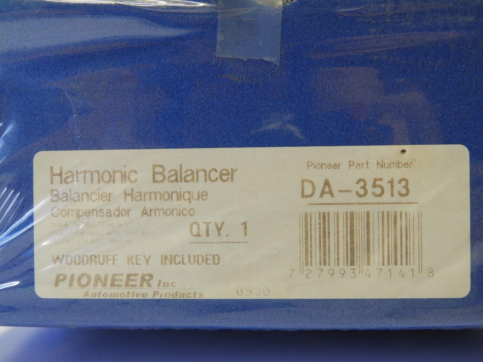 Pioneer DA3513 New Harmonic Balancer