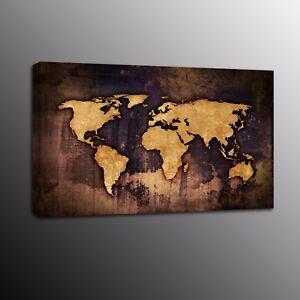 Old World Map Canvas.Modern Canvas Prints Art Old World Map Canvas Painting Wall Art For