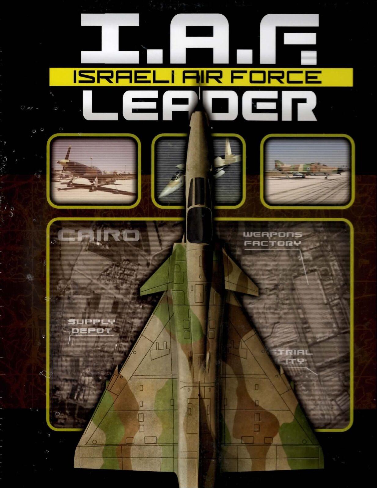 DVG I.A.F. Israeli Air Force  Leader Solitaire Board game  expédition rapide et meilleur service