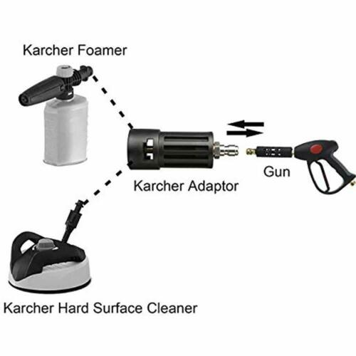 Replacement For Karcher Power Compatible Accessories Pressure Washer Adapter
