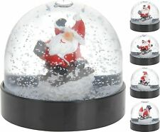 Christmas Snow Globe Christmas Snowglobe Santa Claus on Sledge Xmas Decoration