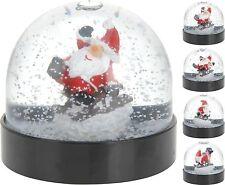 Christmas Snow Globe Christmas Snowglobe Santa Claus on Sledge Xmas Decoration