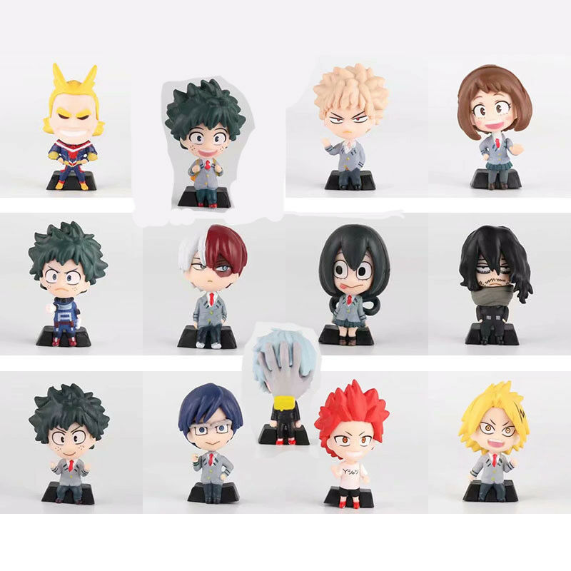My Hero Academia Deformed Mini Figure New No Box 5cm (A B C)