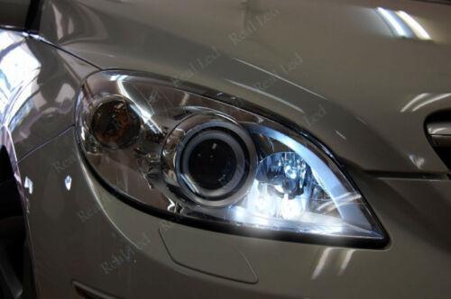 2x T10 LED 9SMD SIDELIGHTS WHITE XENON FREE ERROR MERCEDES B CLASS W245 05-12