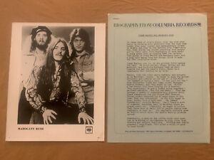 Frank-Marino-amp-Mahogany-Rush-1978-Original-3pg-Bio-Press-Photo-amp-Concert-Ticket