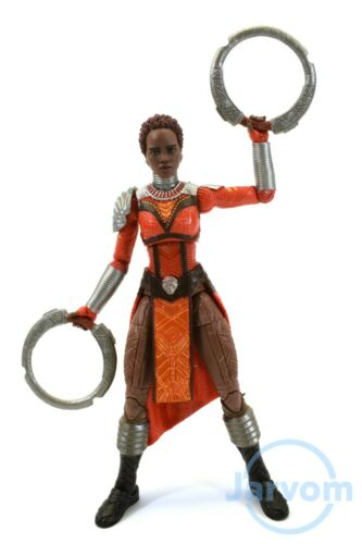 "Marvel Legends 6/"" Inch Okoye BAF Wave Black Panther Nakia Loose Complete"