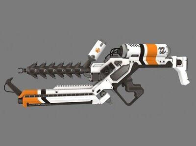 District9 Arc Generator 3D Paper Gun Model 1:1 DIY Assemble Weapon Model Kid Toy