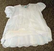 Vintage-2-Piece-White-Baby-Dress-And-Slip-Alfred-Leon-Handmade-Original,great