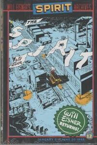 Wll Eisner's SPIRIT ARCHIVES #12 HC factory sealed (DC Comics)  English edition