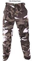 Urban Camoflage BDU MENS ARMY Cargo Pants BDU Military SWAT  SIZE S M L XL 2X 3X