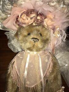 NIB-Elsie-Massey-Original-Victorian-teddy-Bear-Doll-Limited-Edition-3376-5000