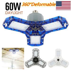 360 Degrees LED Garage Light Bulb Deformable Ceiling ...