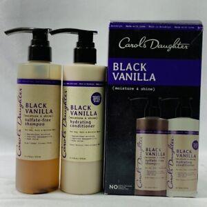 Details about Carol's Daughter Black Vanilla Moisture & Shine Shampoo and  Conditioner Set