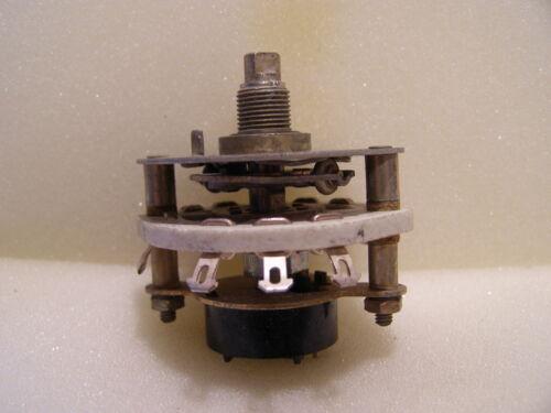 Robusto cerámica interruptor giratorio interruptor con microinterruptor un y desde