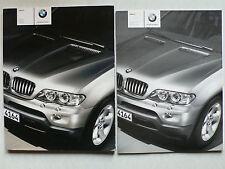 Prospekt - BMW X5 Facelift (3.0i, 4.4i, 3.0d), 2.2003, 100 Seiten + Preisliste