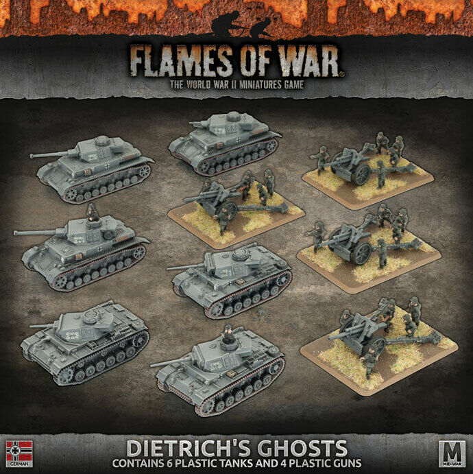 Flames of War - German  Dietrich's Ghosts GEAB16