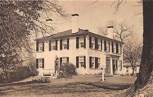 Newton-Massachusetts-Jackson-Homestead-Washington-S-ora-Museo-Cartolina