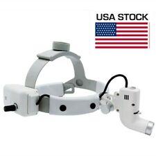5w Dental Surgical Led Head Light Headband Headlight Good Light Spot Ent White