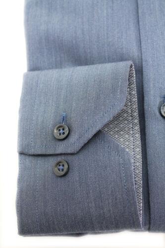 "BRT07 slim fit Made in Italy Camicia sartoriale /""Briatore Clothing/"" cotone Art"