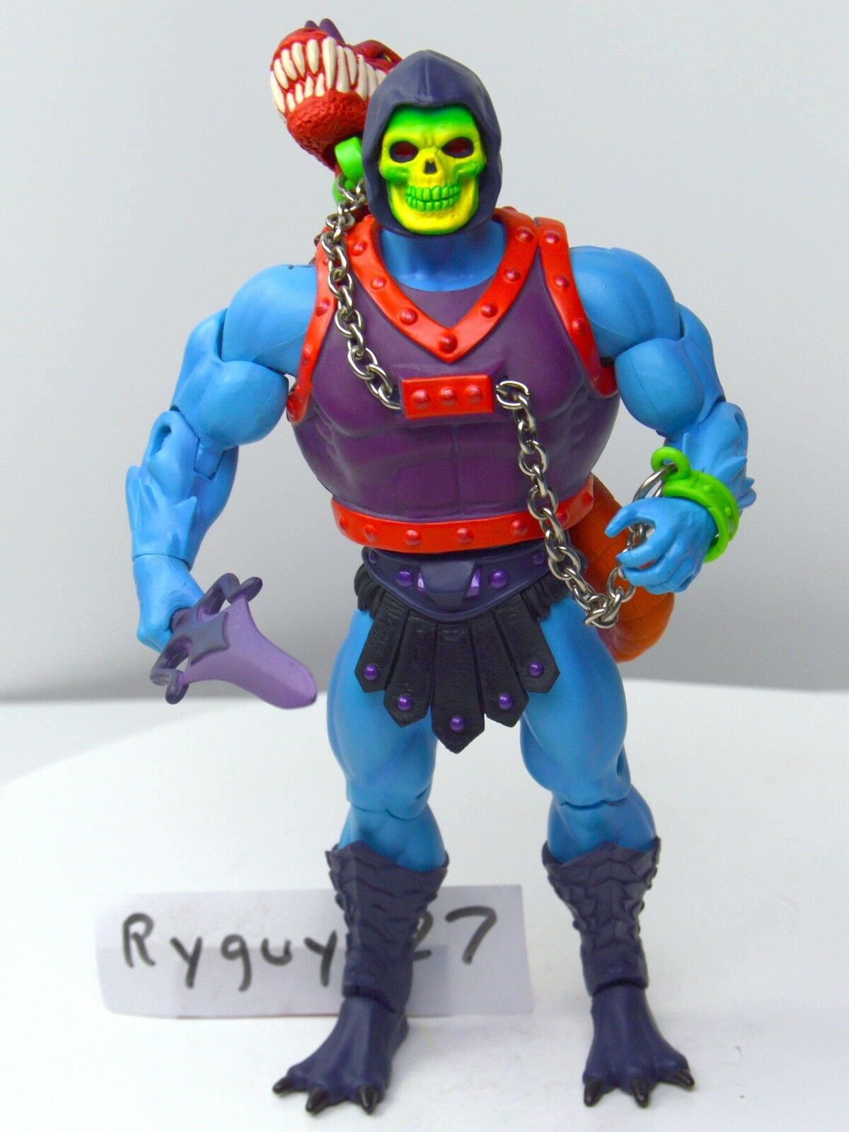 MOTUC, Dragon Blaster Skeletor, parts, Masters of the Universe Classics, figure