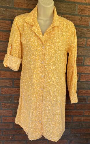 Pine Cone Hill Medium Nightgown Fine Linens 100% C