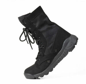 Mens-Outdoor-Tactical-Boots-Military-Combat-Work-Shoes-Climbing-Hiking-desert-12