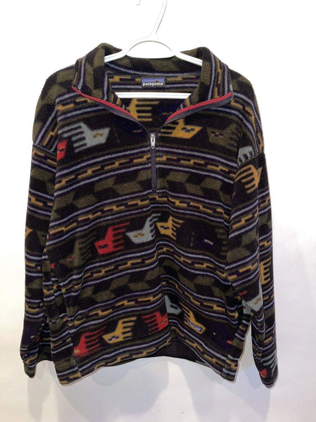 Rare Vintage Aztec Tribal Patagonia Jacket (80s o… - image 2