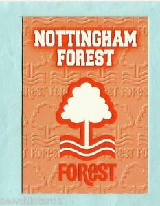 D54-SOCCER-FOOTBALL-LOGO-EMBLEM-CARD-NOTTINGHAM-FOREST