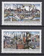 DDR 1990 Mi. Nr. 3338-3339 Postfrisch ** MNH
