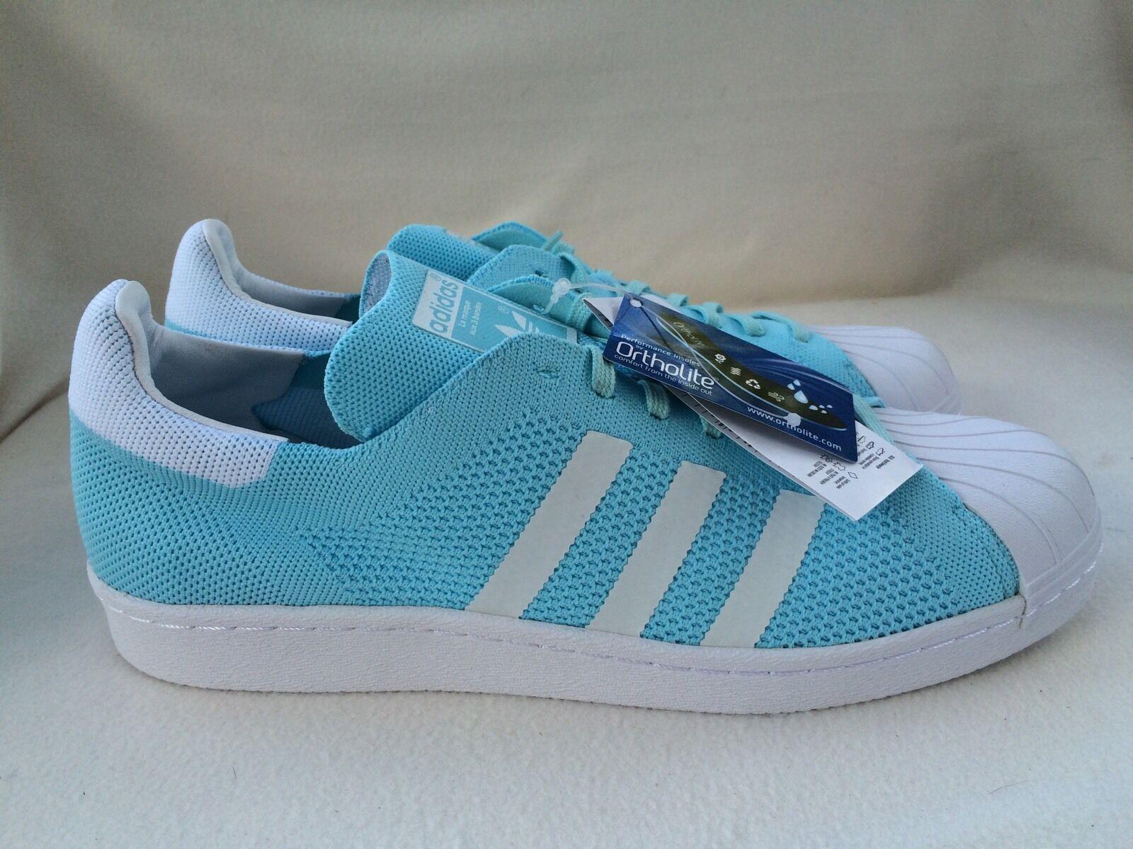 Adidas Para Superstar Primeknit Entrenadores Unido Azul/Blanco Reino Unido Entrenadores 2d5cbf