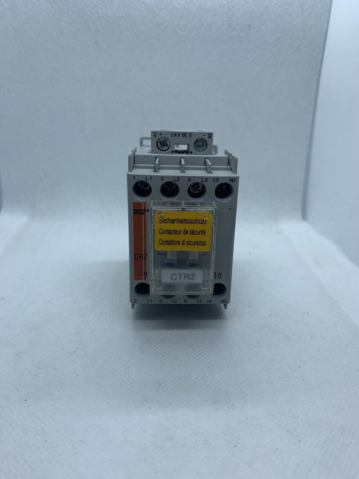 Details about  /Sprecher+Schuh CA7-9E-10-24E Non-Reversing Three Pole Contactor 24VDC