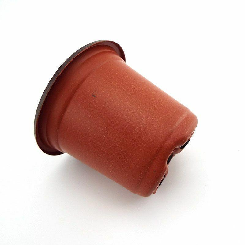 Flowerpot Plant Grow Pots 20-50pc Garden Home Tools Vegetable Flower Pot Plastic