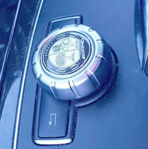 AMG-Affalterbach-Badge-Mercedes-Multimedia-Control-Knob-Emblem-Decal-Sticker