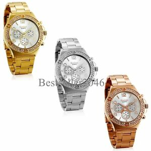 New-Luxury-Women-Ladies-Girl-Stainless-Steel-Band-Analog-Quartz-Wrist-Watch
