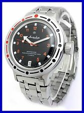 AMPHIBIA 200m VOSTOK AUTOMATIC MECHANICAL WATCH NEW! 12 Es